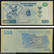 Congo Banknote 500 Francs 2002 UNC