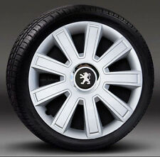 "Set of 4 15"" wheel trims, Hub Caps, Covers to Peugeot Partner (Quantity 4)"