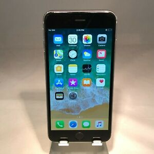 Apple iPhone 6 Plus 64GB Gray Verizon Unlocked Good Condition No Mute Switch