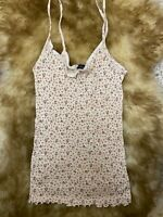 Undersexy Ragno wool Camisole Top sleepwear nightwear size it5 us L us38 eu85