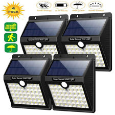 Solar Power PIR Motion Sensor Light Waterproof Outdoor Garden Security Wall Lamp