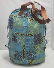 Beach Bag Fully Lined Washable Large Capacity Duffle Bag Inner Pockets Blue