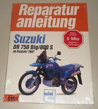 Reparaturanleitung Suzuki DR 750 Big / DR 800 S ab Baujahr 1987