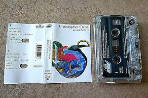 CHRISTOPHER CROSS: RENDEZVOUS. 1992 BMG Ariola cassette 74 321 102 914