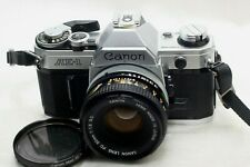 Canon AE-1 film Camera w/ FD 50mm f1.8 SC lens *Excellent*