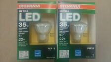 Lot of 2 Sylvania Ultra Led Gu10 35w dimmable warm white