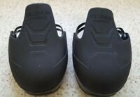 Overshoes Large 10-14 Unisex Steel Toecap Adjustable Strap Black Gaston Mille