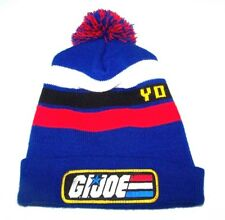 ccf6aafcaf7 G.I. Joe Toque Winter Hat Pom-Pom Ski Knit Cap Yo Joe! 80s Cartoon