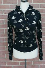 Girl's Youth South Pole Sweatshirt Hodie Size M Black/Gold