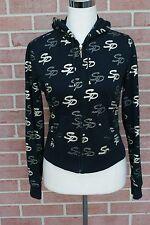 Girls Youth South Pole Sweatshirt Hodie Size M Black/Gold