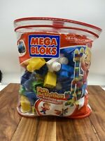 Mega Bloks 80-Piece Big Building Bag, Classic Learning Motor Skills Creative