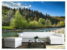 66x96 inches Wall26 Night Landscape with Moon and Lake Wall Mural