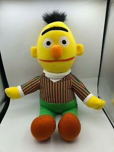Large Fisher Price Mattel Sesame Street Bert Plush Kids Soft Stuffed Toy Doll