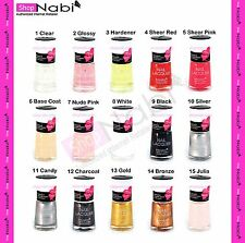 12pcs Nail Manicure Nabi Nail Polish (Pick your Own Colors)
