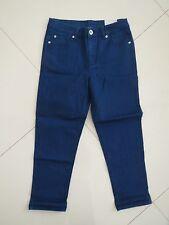 Rockmans Ladies Cropped Straight leg Stretch Jeans  Size 8