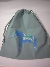 Waterproof Plastic Large Drawstring Bag Storage Travel Packaging Pouch-Horse
