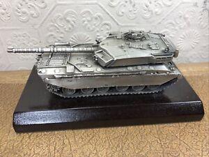 Rare Chas Stadden Pewter Tank - Edwin Blyde