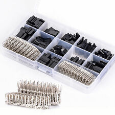 620pcs Dupont Wire Jumper Pin Header Connector Housing Kit + M/F Crimp Pins