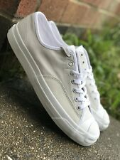 Converse Jack Purcell Ox Mens Casual Shoe Off White W/ Nike Zoom 157877C Sz 9
