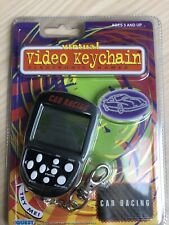 CAR RACING KEYCHAIN CLASSIC GAME - 1999 - ELECTRONIC HAND HELD 1990s Toy