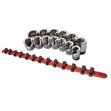 """Sunex Tools 3/8"""" Drive 13 Piece SAE Weatherhead Socket Set 9913"""