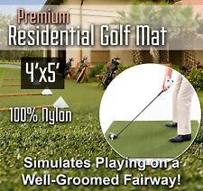 Premium Residential Golf Mat - 4 feet x 5 feet