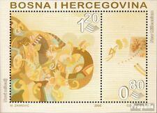 Bosnia-Herzegovina block10 mint never hinged mnh 2000 Millennium