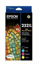Epson Genuine 252XL / 254XL OR 4 Colour High Yield Value Pack