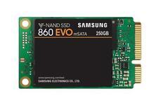 Samsung 860 EVO 250GB,V-NAND, mSATA, SATA III 6GB/s, R/W(Max) 550MB/s/520MB/s,