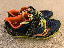Saucony Unleash 50 men's running trainers in dark blue - size 6