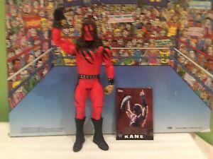 RARE WWE Mattel Kane Basic Series 74 Wrestling Figure Big Red Machine SHIPS FREE