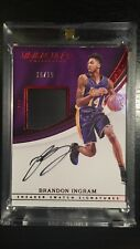 BRANDON INGRAM 2016-17 IMMACULATE SNEAKER PATCH ROOKIE AUTO /15 SHOE LAKERS
