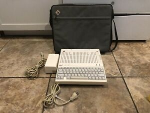 Super RARE Vintage Working Apple IIc A2S4100 AMBER ALPS Computer w/ Bag