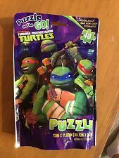 Nickelodeon Puzzle On The Go Teenage Mutant Ninja Turtles 48 Pieces NEW