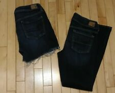 Lot of 2 American Eagle Artist Boot Cut & Jegging Cut Off Shorts Women Size 10S