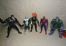 Hasbro Toy Biz Marvel Legends Lot Venom Jack O Lantern Spider-Man Green Goblin H