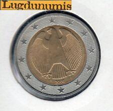 ALLEMAGNE 2006 J Hambourg - 2 Euro - pièce neuve de rouleau - Sous pochette HB