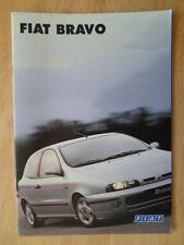 FIAT BRAVO orig 1997 UK Mkt Sales Brochure - 2.0 HGT