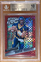 🔥Aaron Rodgers 2015 Panini PRIZM DP RED POWER XFRACTOR #2 BGS 10 PRISTINE💎PSA