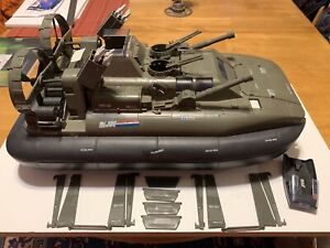 GI JOE VINTAGE 1984 HOVERCRAFT KILLER WHALE Complete with Cutter