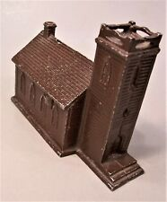 """New ListingVintage """"Little Brown Church of the Vale"""" Metal Bank"""