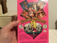 1992  BENCH WARMERS FACTORY SEALED BOX mint condition