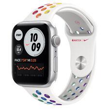 Apple Watch Nike Series 6 GPS + Cellular, 44mm Silver Case Pride Band NIB