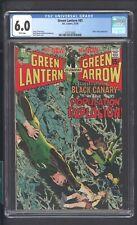 GREEN LANTERN 81 (Dec 1970) CGC 6.0 WHITE * NEAL ADAMS COVER * Black Canary *
