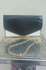 Karierte Damentaschen mit Fächern und Magnetverschluss