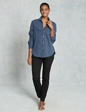 Frank & Eileen Tee Lab Blue  Essential Jersey Cotton Button Down Long Sleeve M