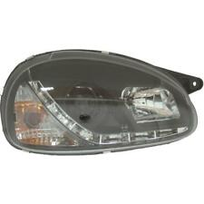Scheinwerfer Set Opel Corsa B 93-00 LED klarglas/schwarz Dragon Lights 1003040