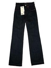 Drykorn azul vaquero Mujer W 26 L 34 5 bolsillos Estilo denim botas corte