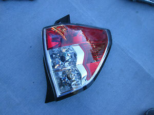 SUBARU FORESTER REAR TAILLIGHT TAIL LAMP OEM PASSENGER  2010 2011 2012