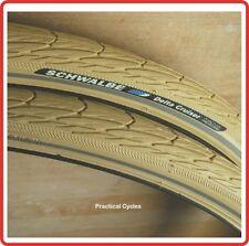 """Schwalbe Delta Cruiser Tyre CREAM 28x 1 1/2""""  town bike RETRO DUTCH BIKE"""